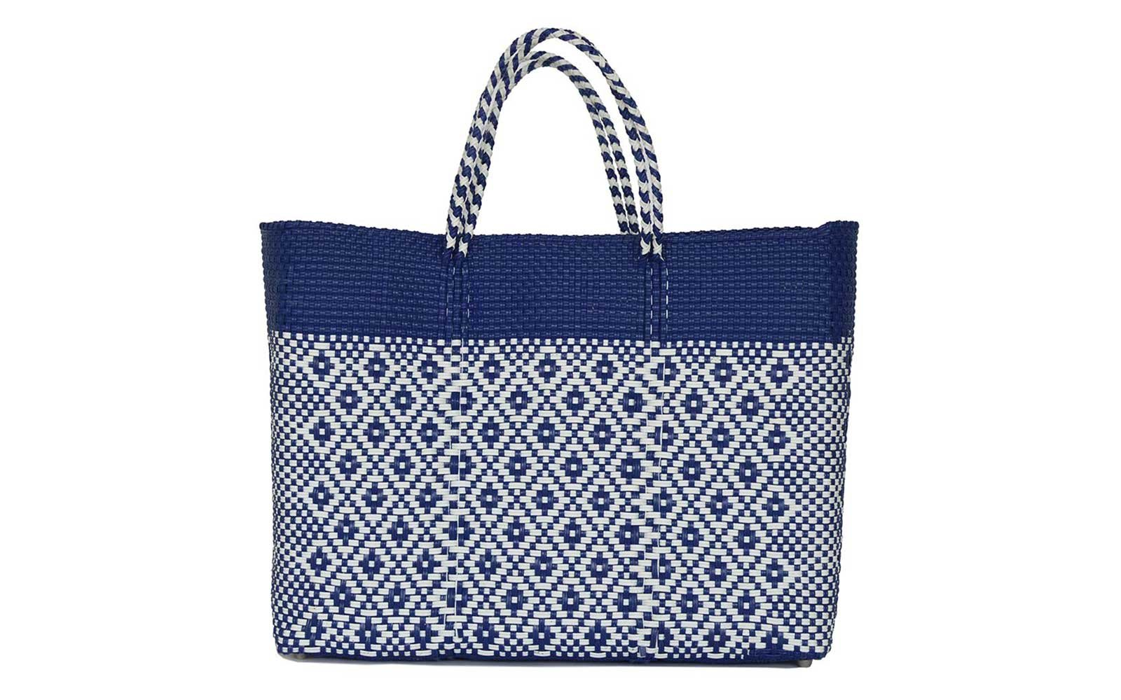 Patterned Beach Totes