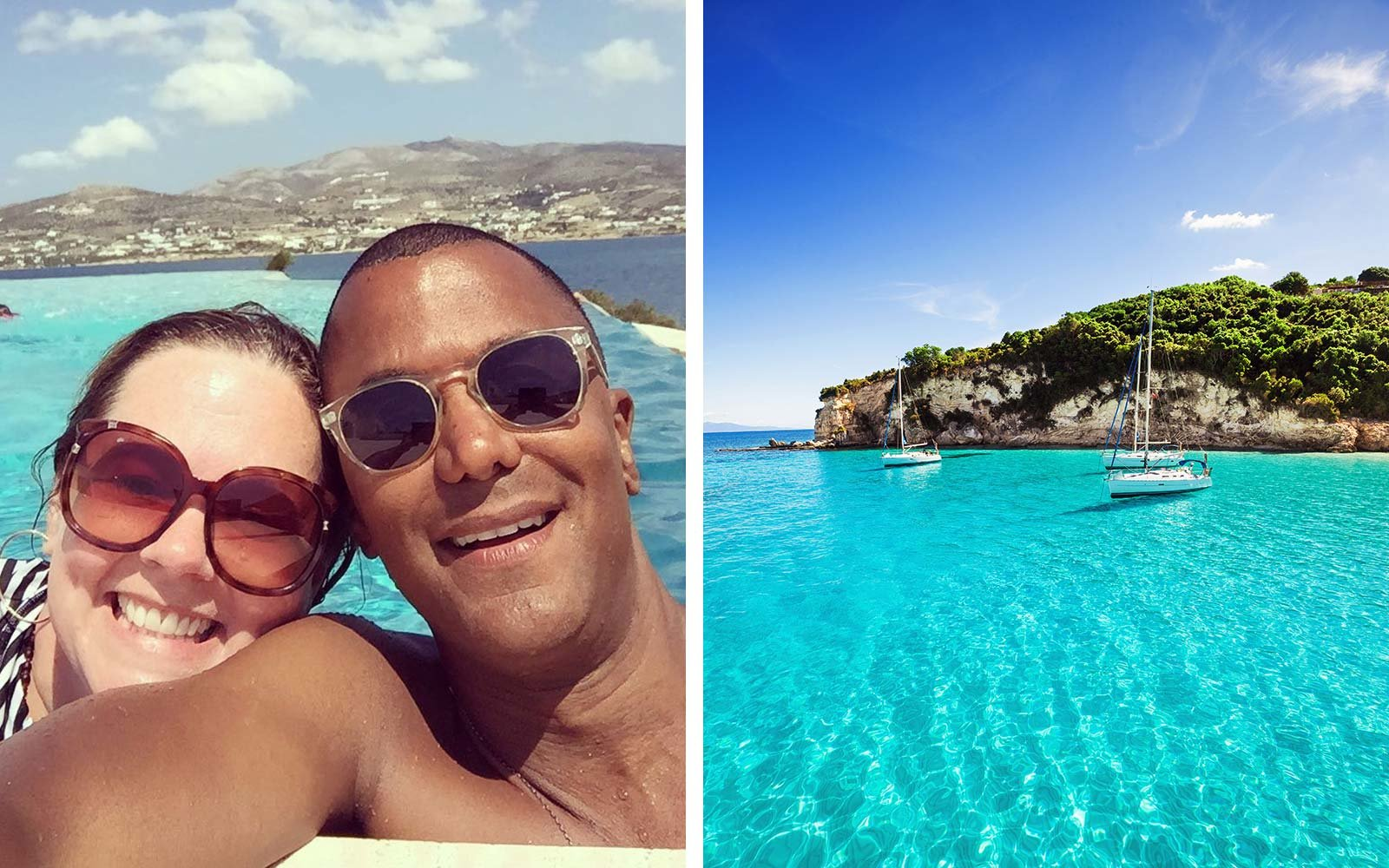 Melissa McCarthy Yanic Truesdale Greece Greek Summer Holiday Vacation