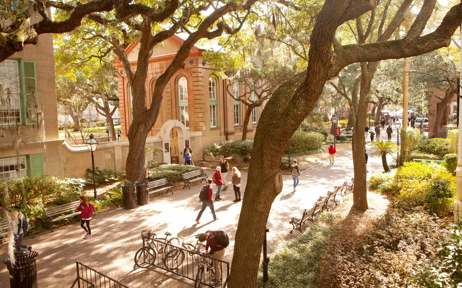 College of Charleston SC Prettiest Campus