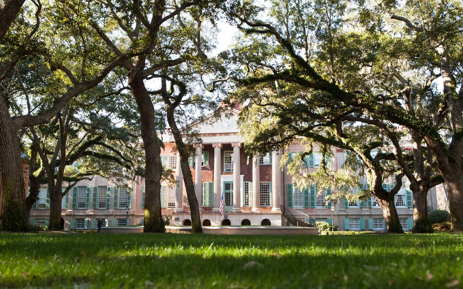 College of Charleston's Historic Randolph Hall