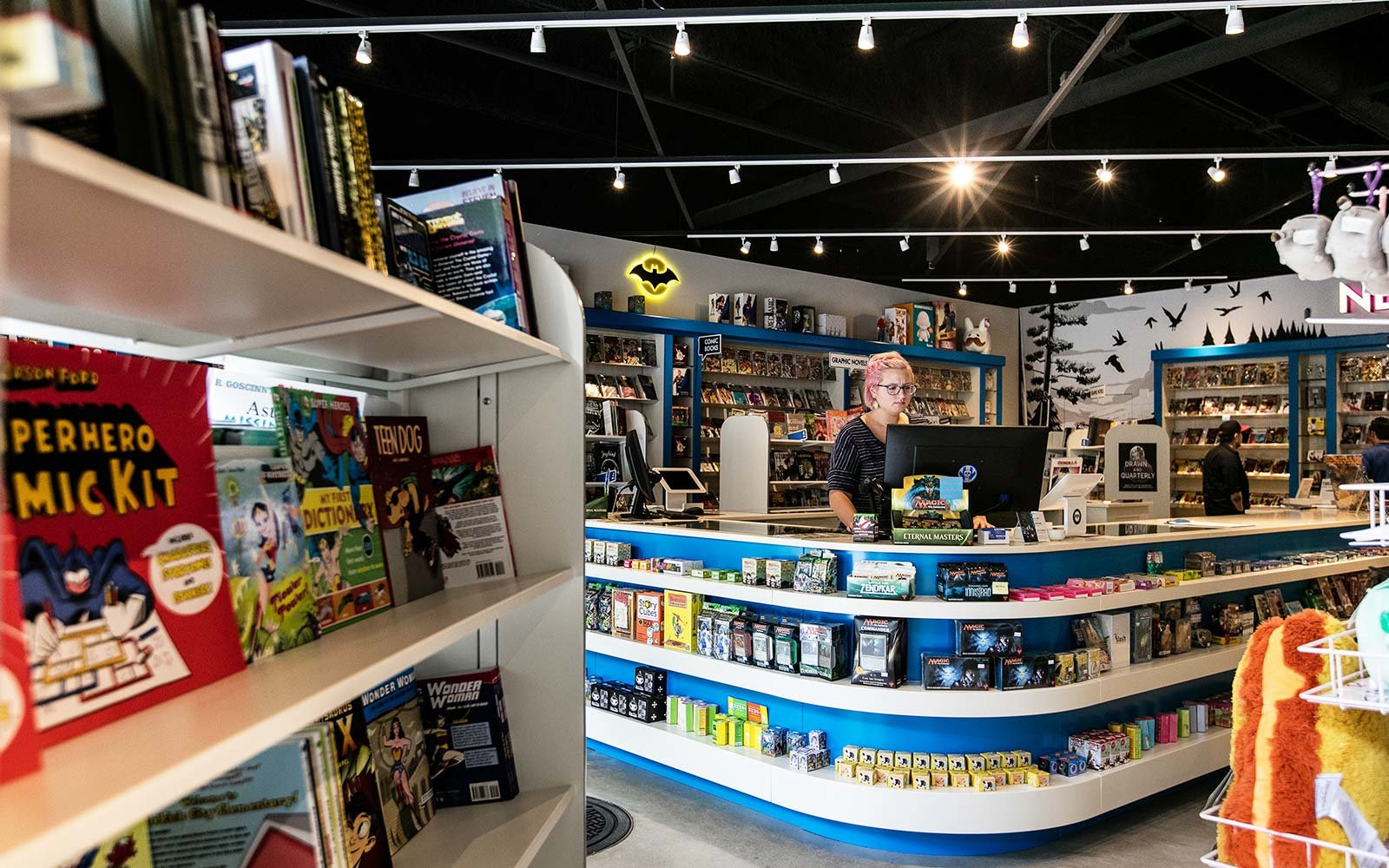 The best comic book stores in the u s travel leisure for Blueprint store dallas
