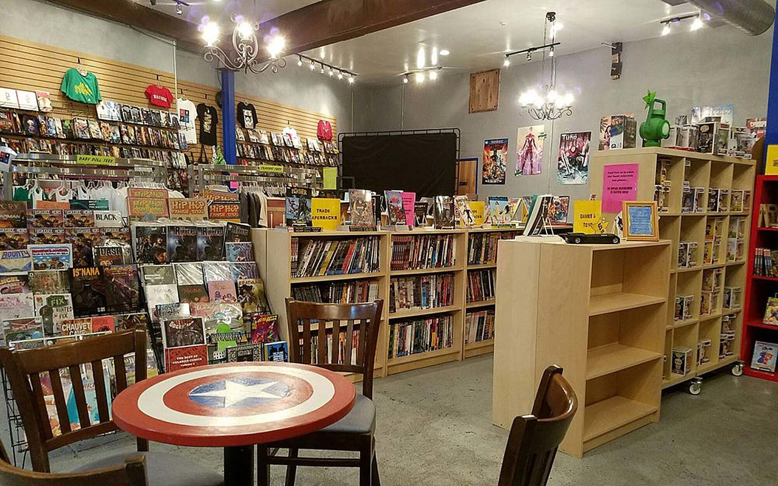Amalgam Comics & Coffeehouse Philadelphia Pennsylvania