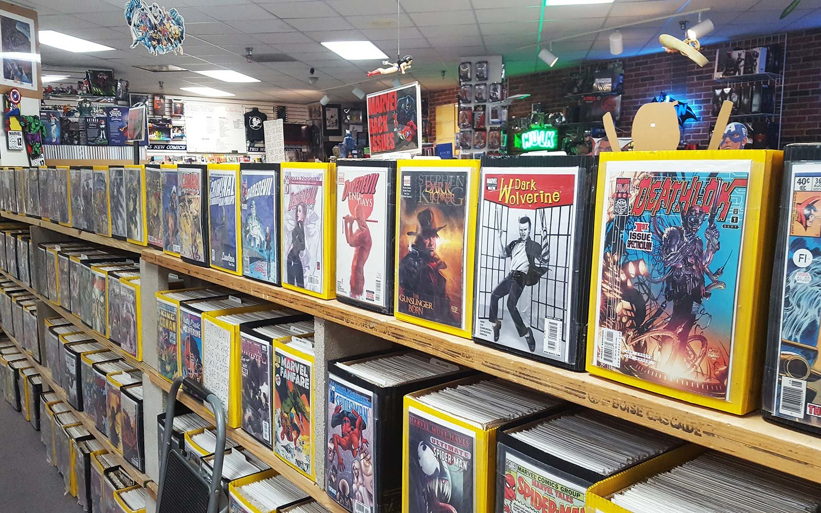 Time Warp Comics and Cards Boulder California