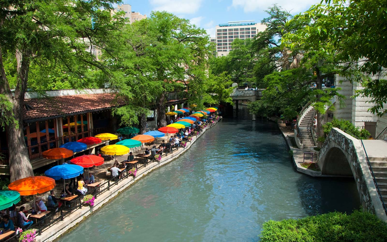 San Antonio waterfront