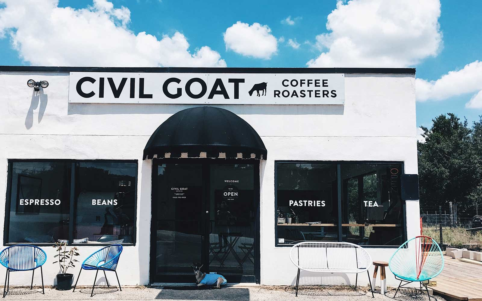 Civil Goat Coffeeshop Austin Texas