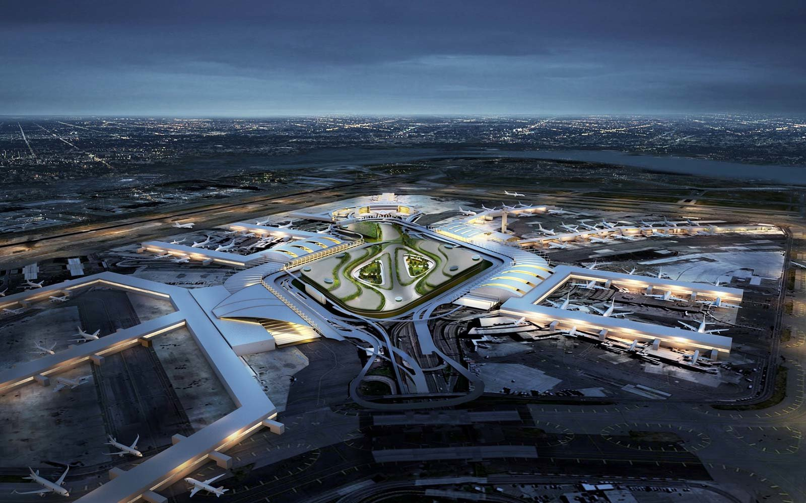 New JFK Airport Transformation New York JetBlue Terminal