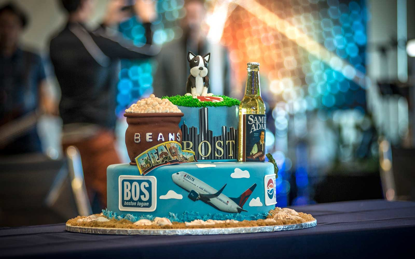 Beans Beer Boston cake
