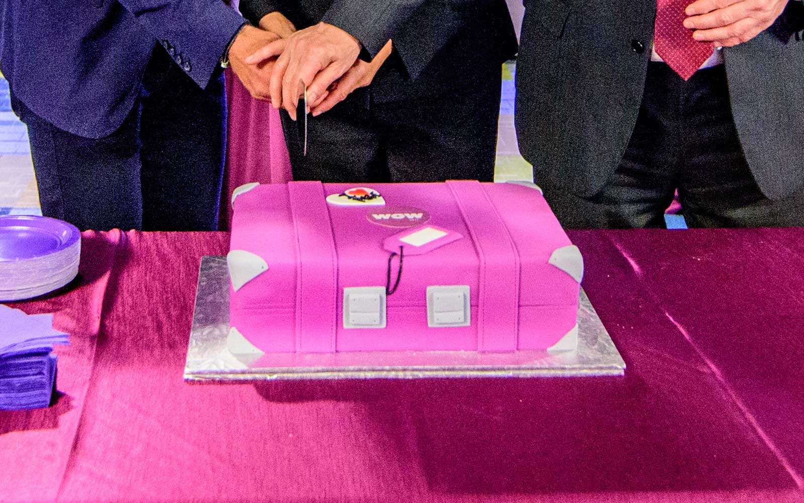 Wow Airlines Pittsburgh Cake