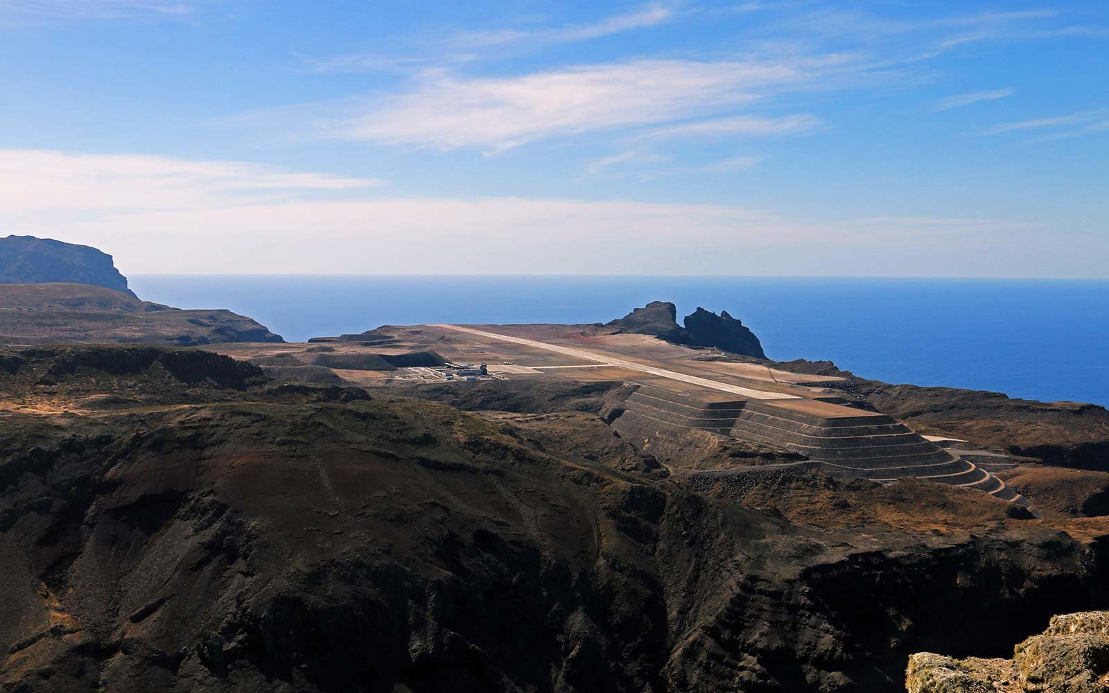 Saint Helena airport South Atlantic Ocean Ascension and Tristan da Cunha