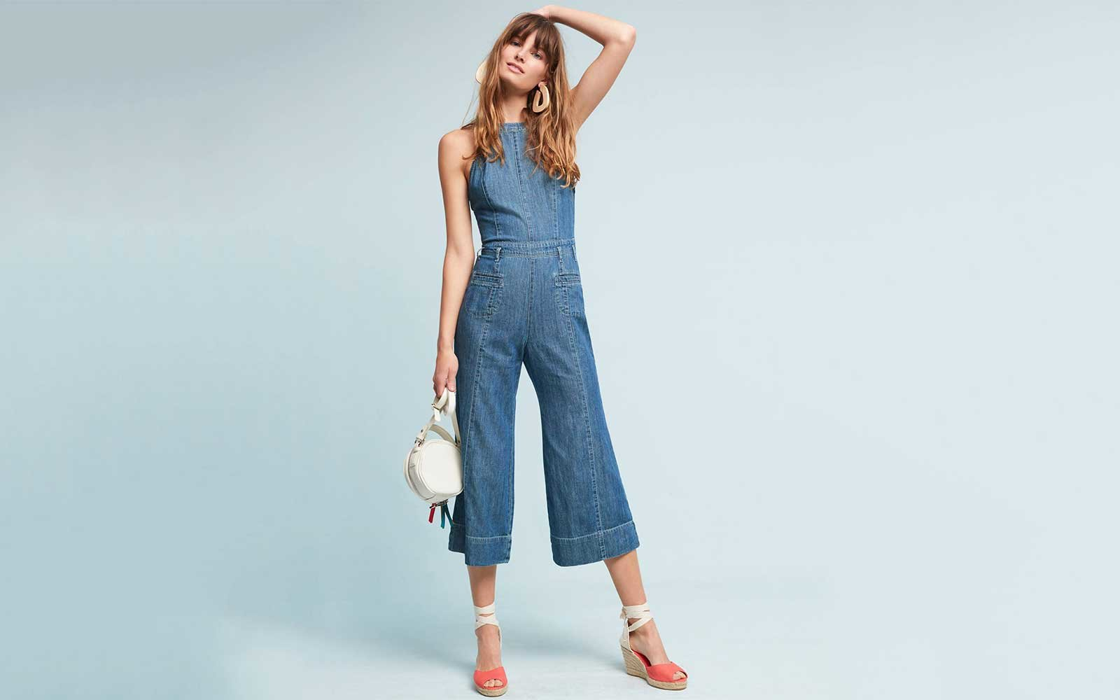 Denim Jumpsuit from Anthropologie