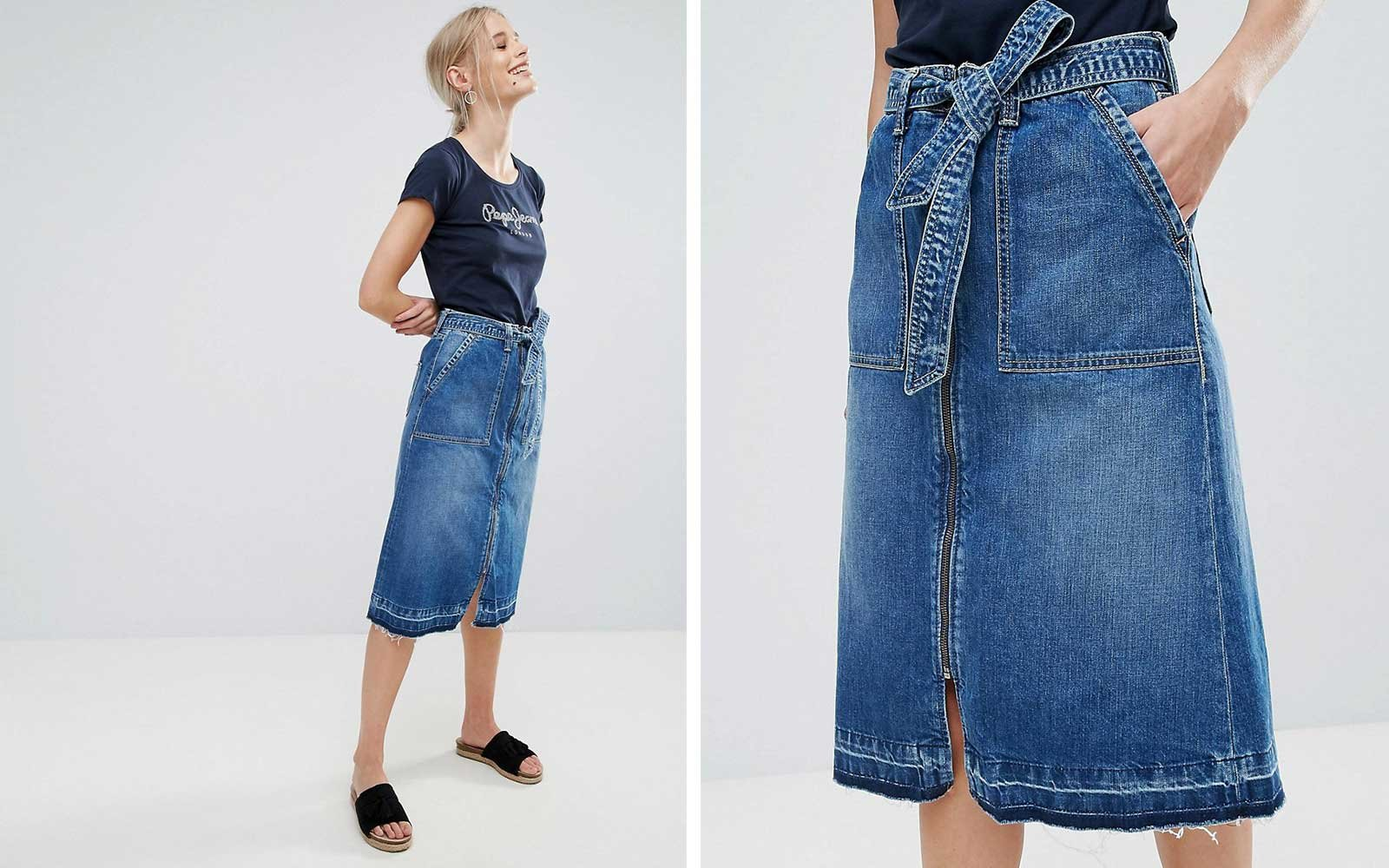 Pepe Jeans Skirt at Asos