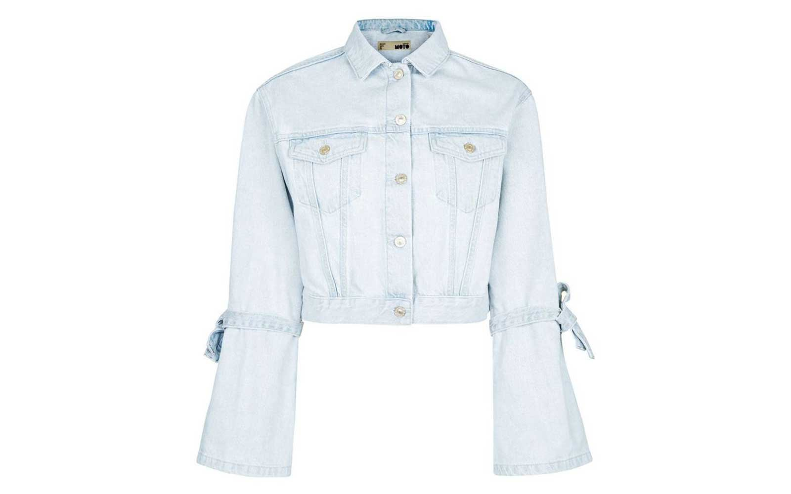 Topshop Light Denim Jacket