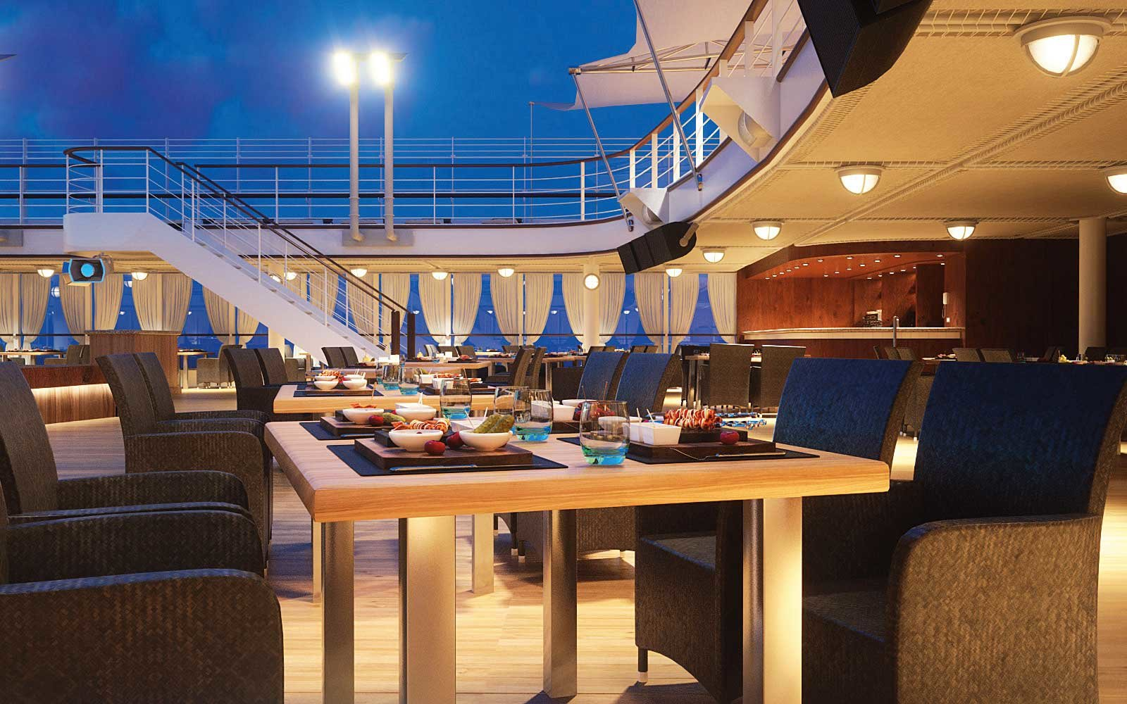 Silversea Silver Muse Outdoor Dining