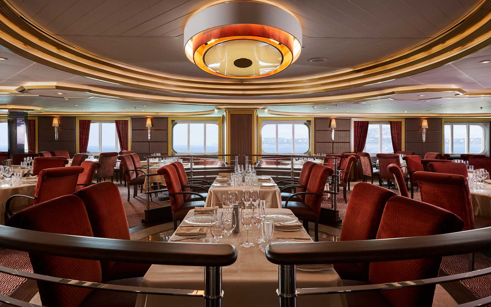 Silversea Silver Muse Formal Dining