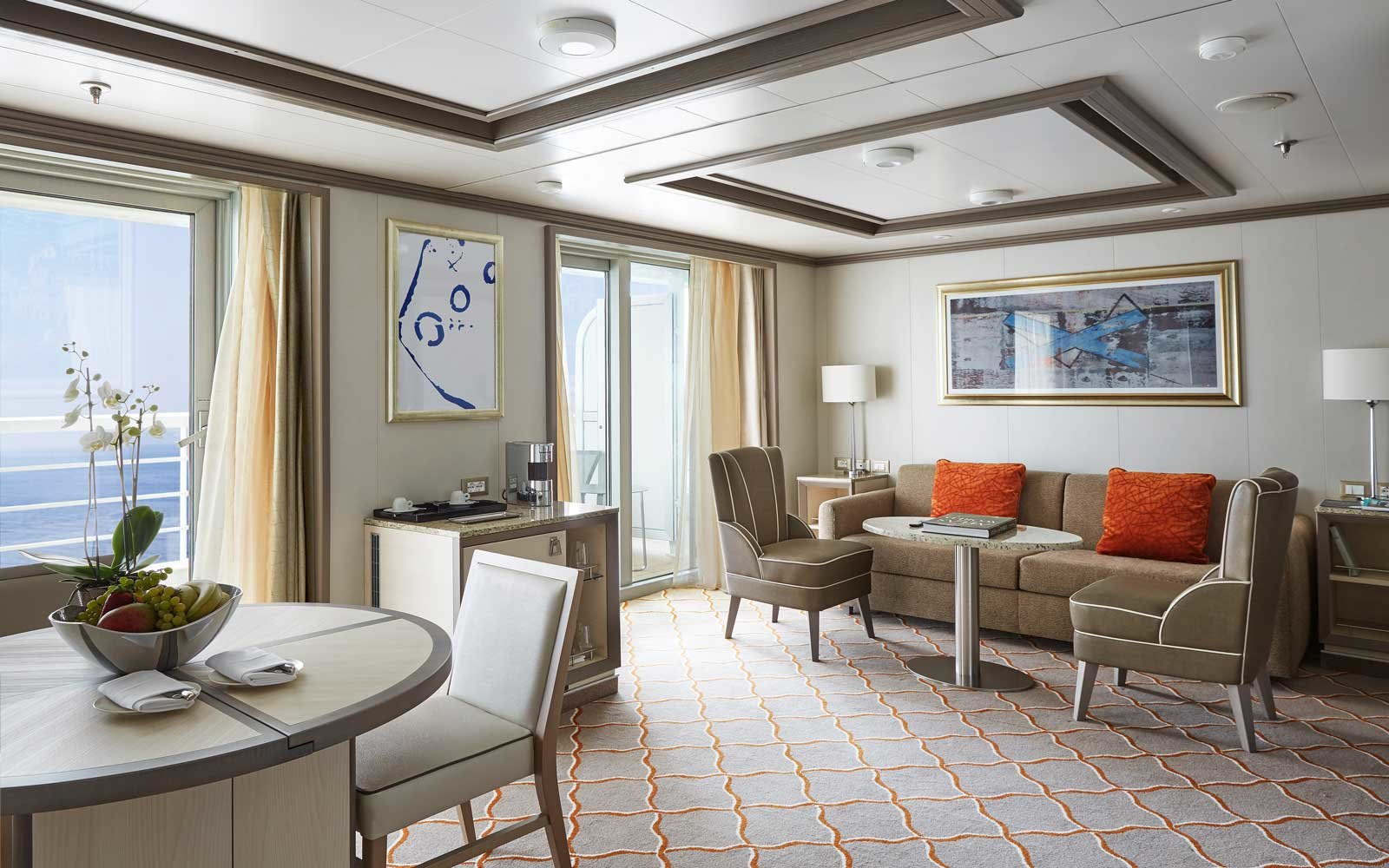 Silversea Silver Muse Cruise Ship Suites