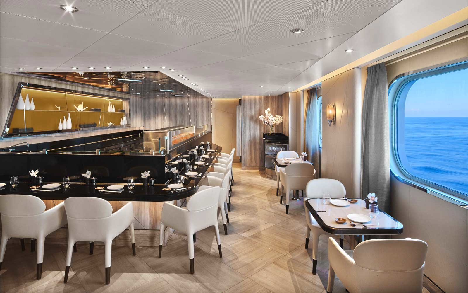 Sushi On the Seabourn Encore