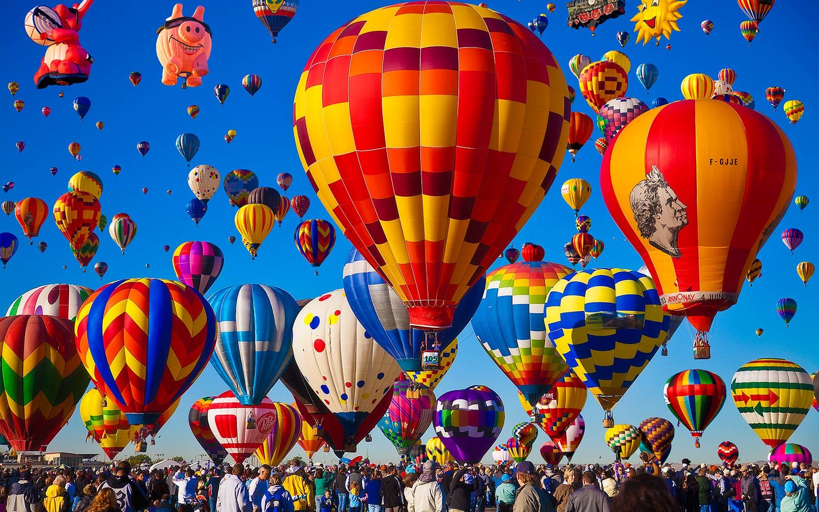 Albuquerque International Balloon Fiesta New Mexico Adventure