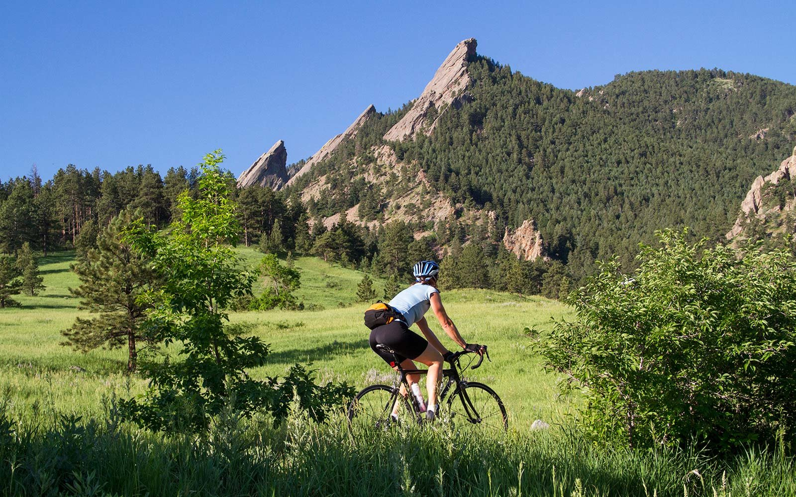 Flagstaff Mountain Road, Boulder Colorado Chautauqua Park Bike