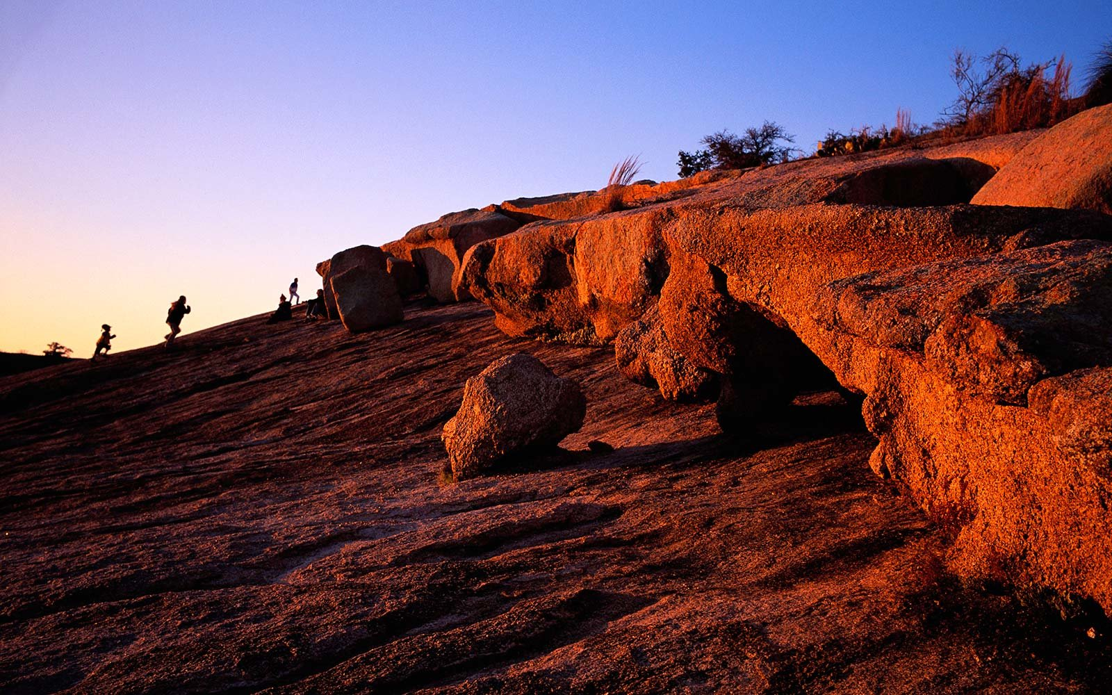 San Antonio Texas Enchanted Rock State Park Hike Adventure