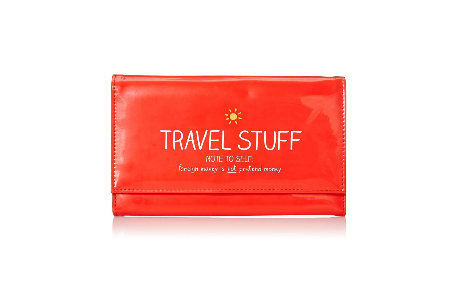 Happy Jackson and Wild Wolf Travel Wallet