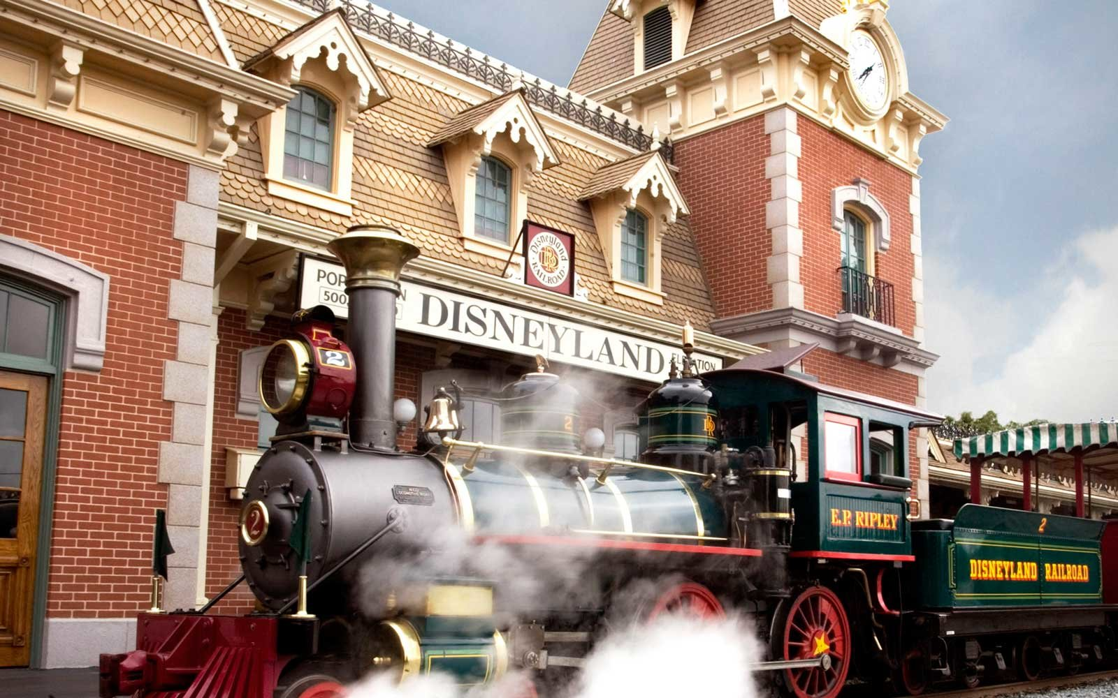 Disneyland Railroad, California