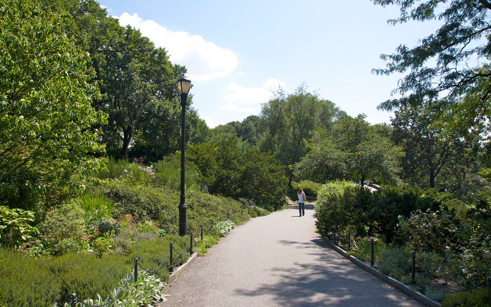 Fort Tryon park, in Manhattan.