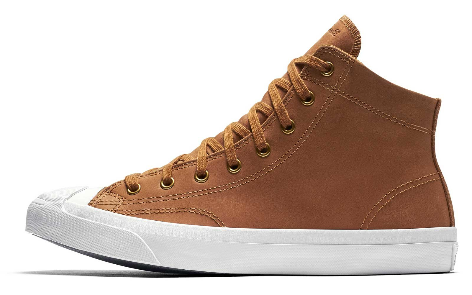 Converse Jack Purcell Mid Boot Leather High Top