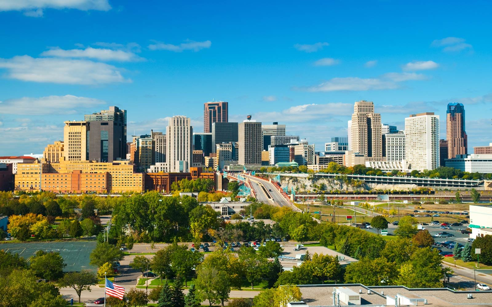 Downtown Saint Paul, Minneapolis