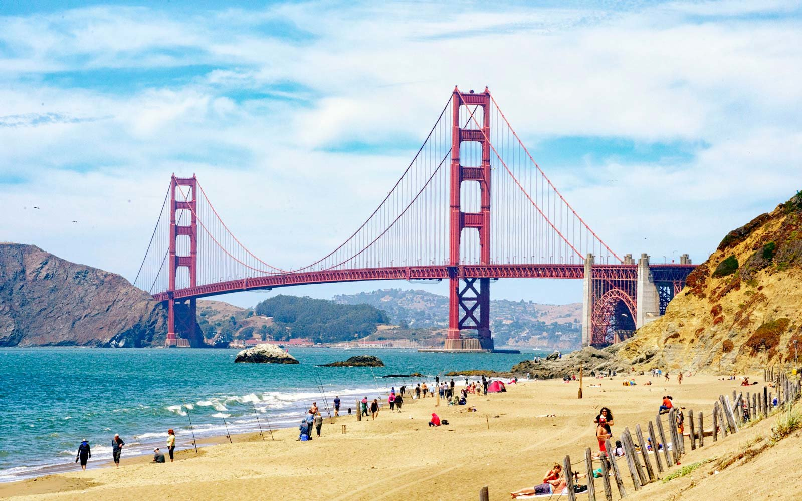 Baker Beach, California