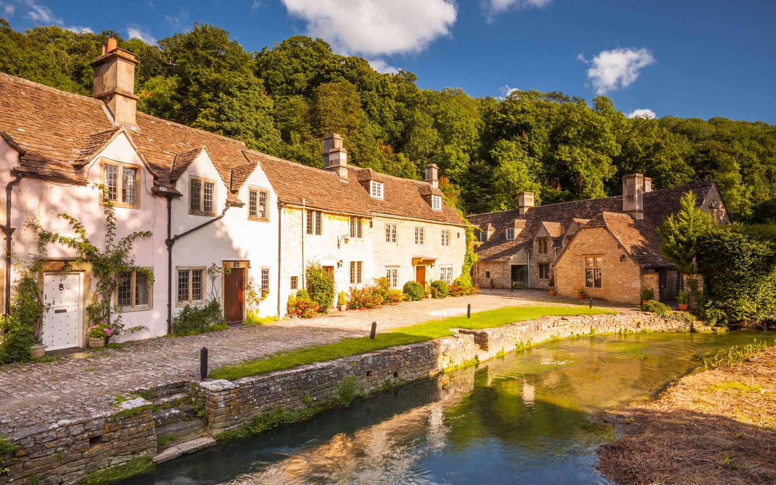 Cotswolds village of Castle Combe, north Wiltshire, England, United Kingdom, Europe