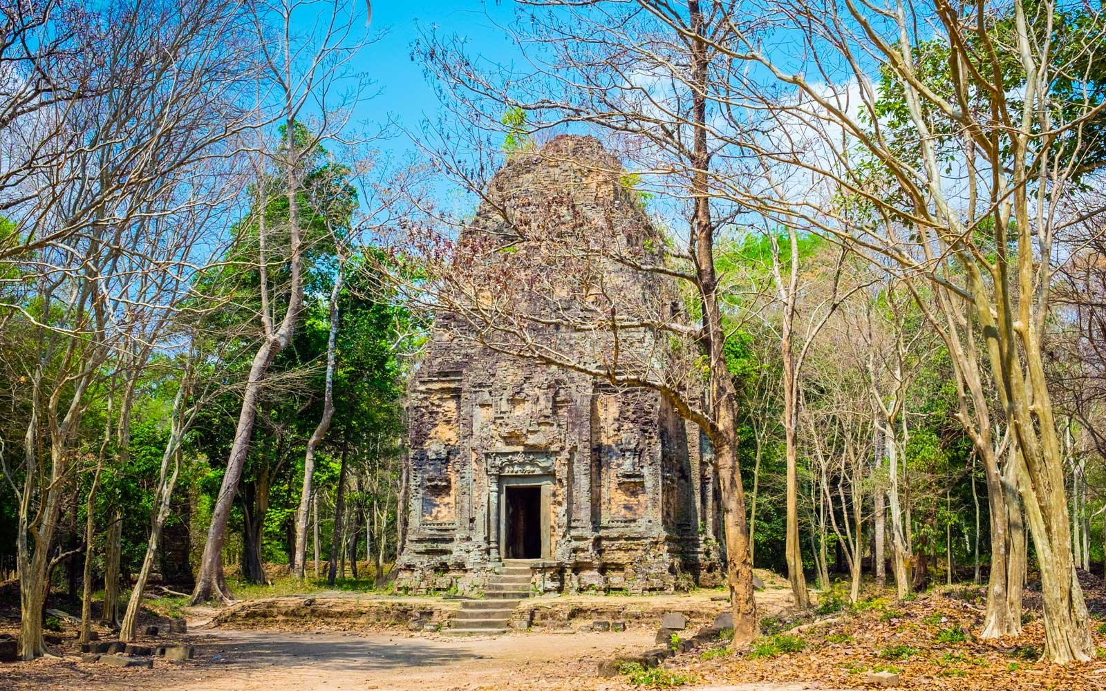 Temple Zone of Sambor Prei Kuk, Cambodia