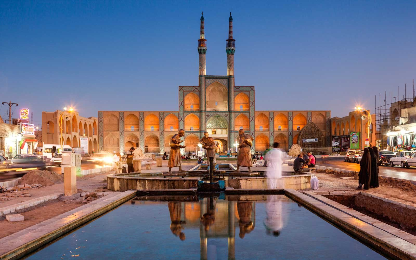 City of Yazd Iran Becomes Unesco World Heritage Site