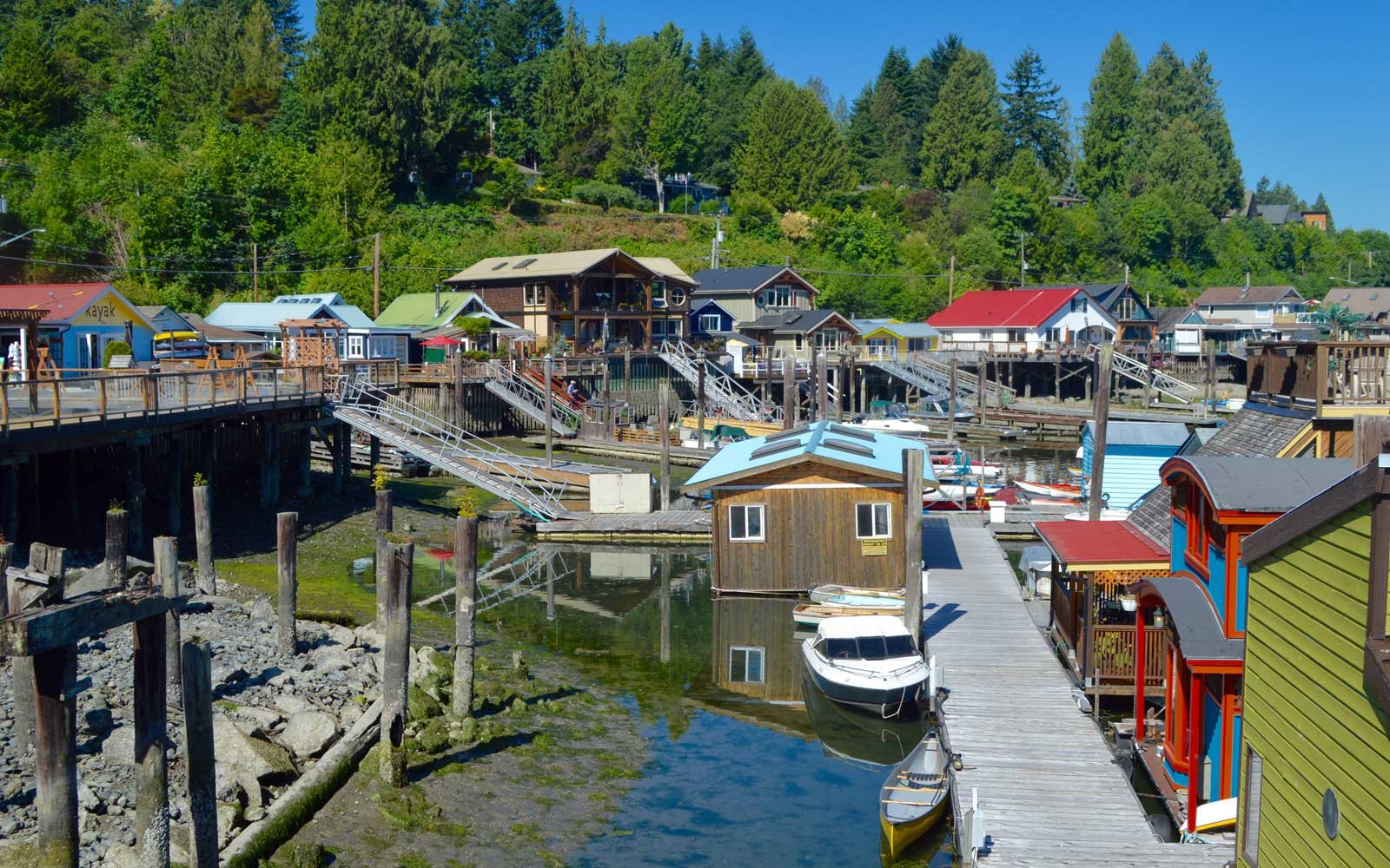 Cowichan Bay on the Pacific Marine Circle Route
