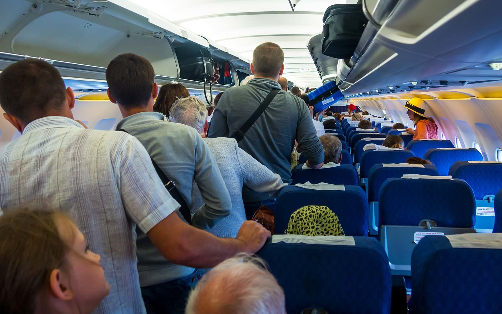 Economy Cabin Passengers prefer cheap flights over airline perks airplane