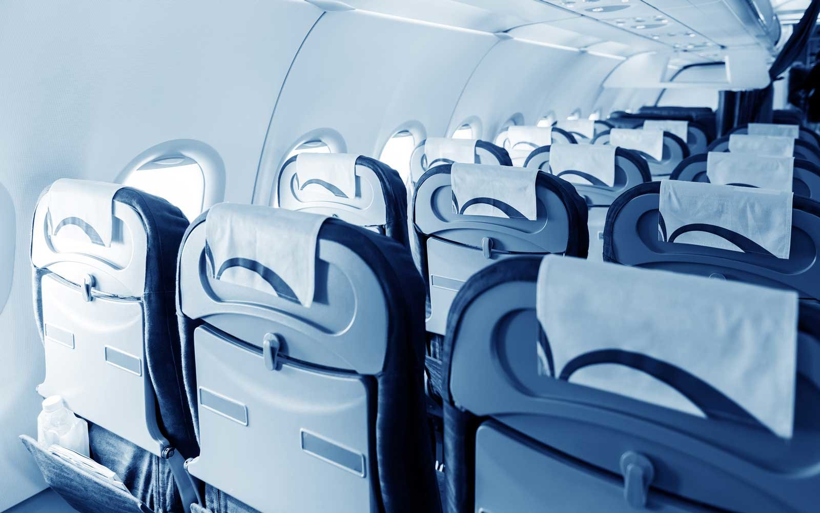 Commercial Airplane Cabin