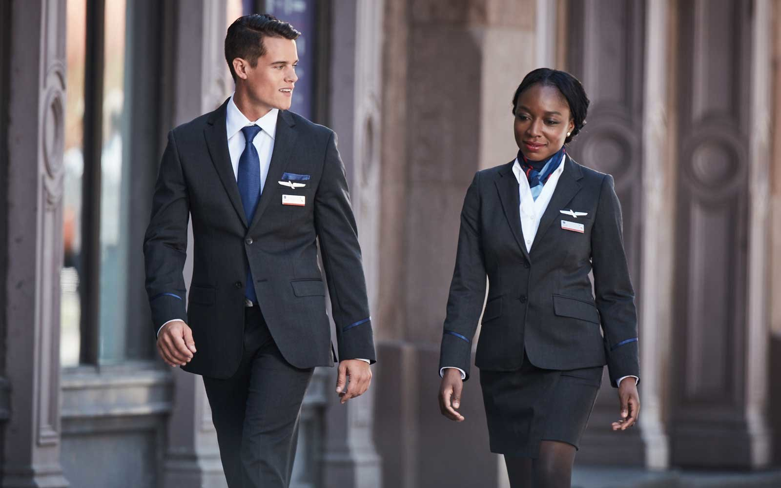 American Airlines Flight Attendant Uniforms
