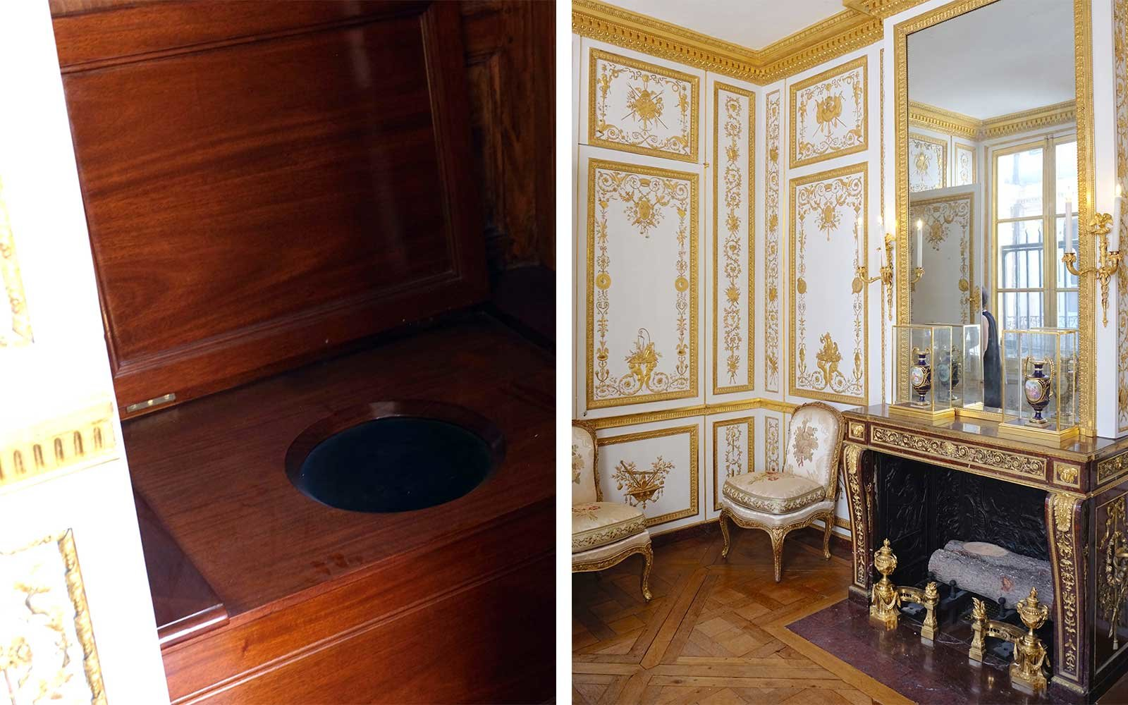 King's Water Closet in Versailles