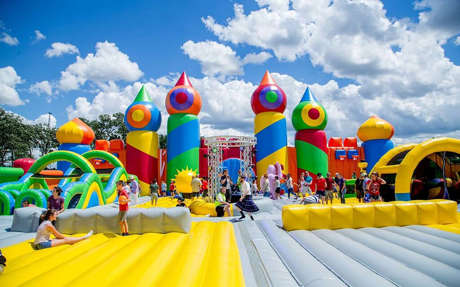 The World's Largest Bounce House May Be Coming to a City ...