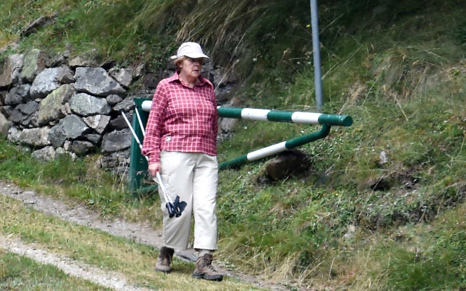 Angela Merkel Has Been Wearing The Same Vacation Outfit