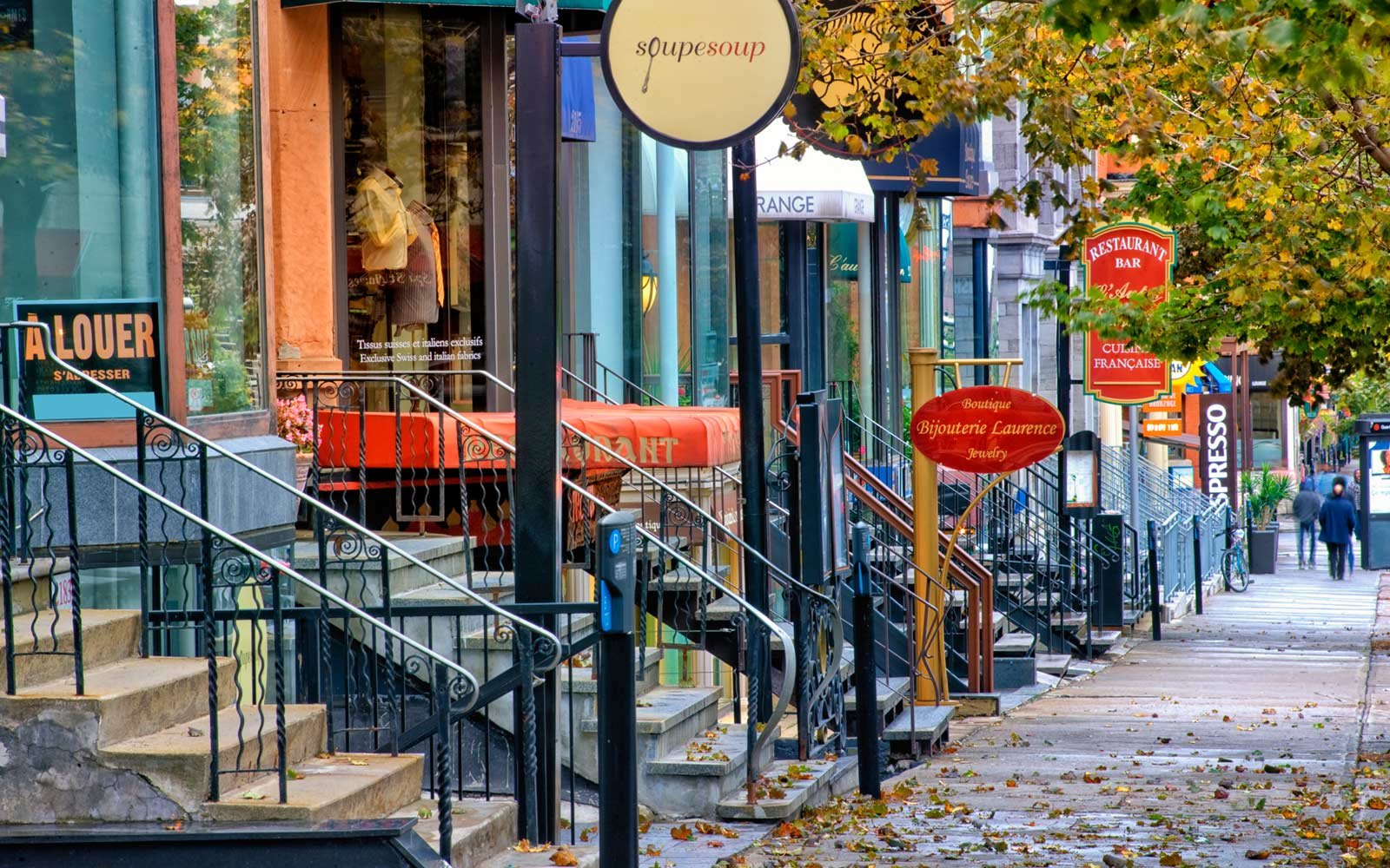Crescent Street, Montreal, Canada