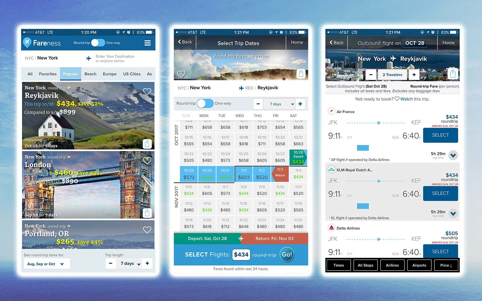 Last Minute Travel Planning Apps Fareness