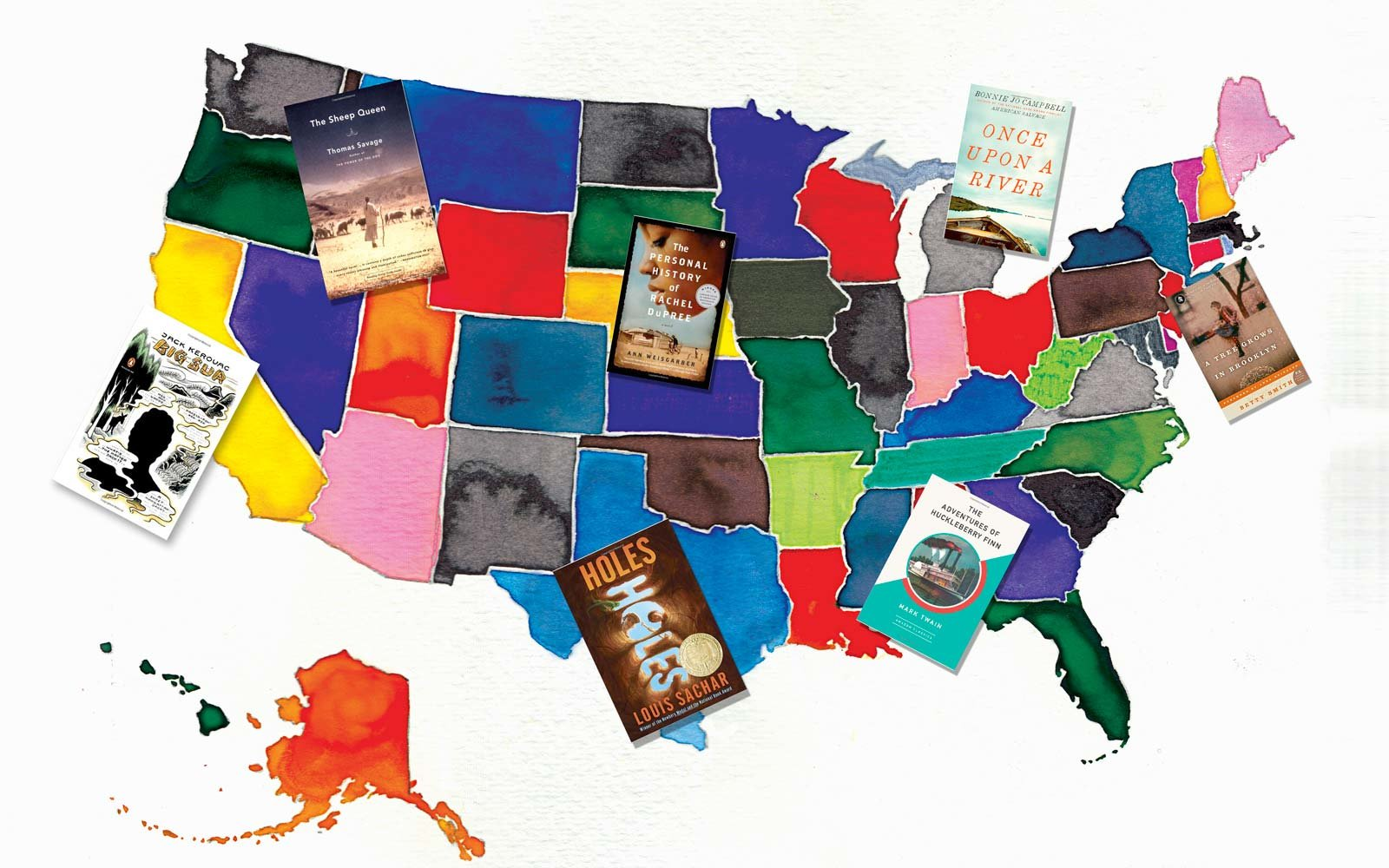 The Best Books Based in Every State