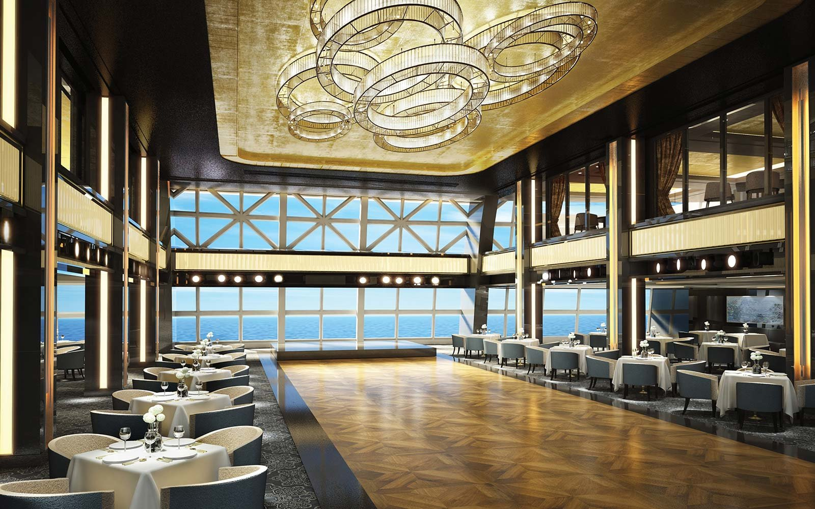 Norwegian Cruise Line Bliss Ship Dining Manhattan Room