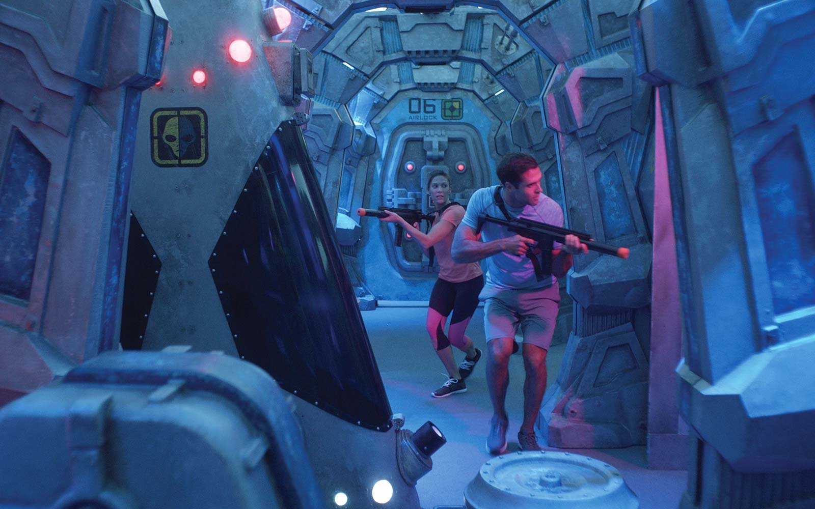 Norwegian Cruise Line Bliss Ship Laser Tag
