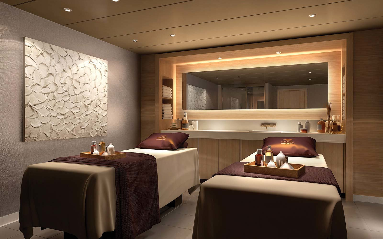 Norwegian Cruise Line Bliss Ship Spa Treatment