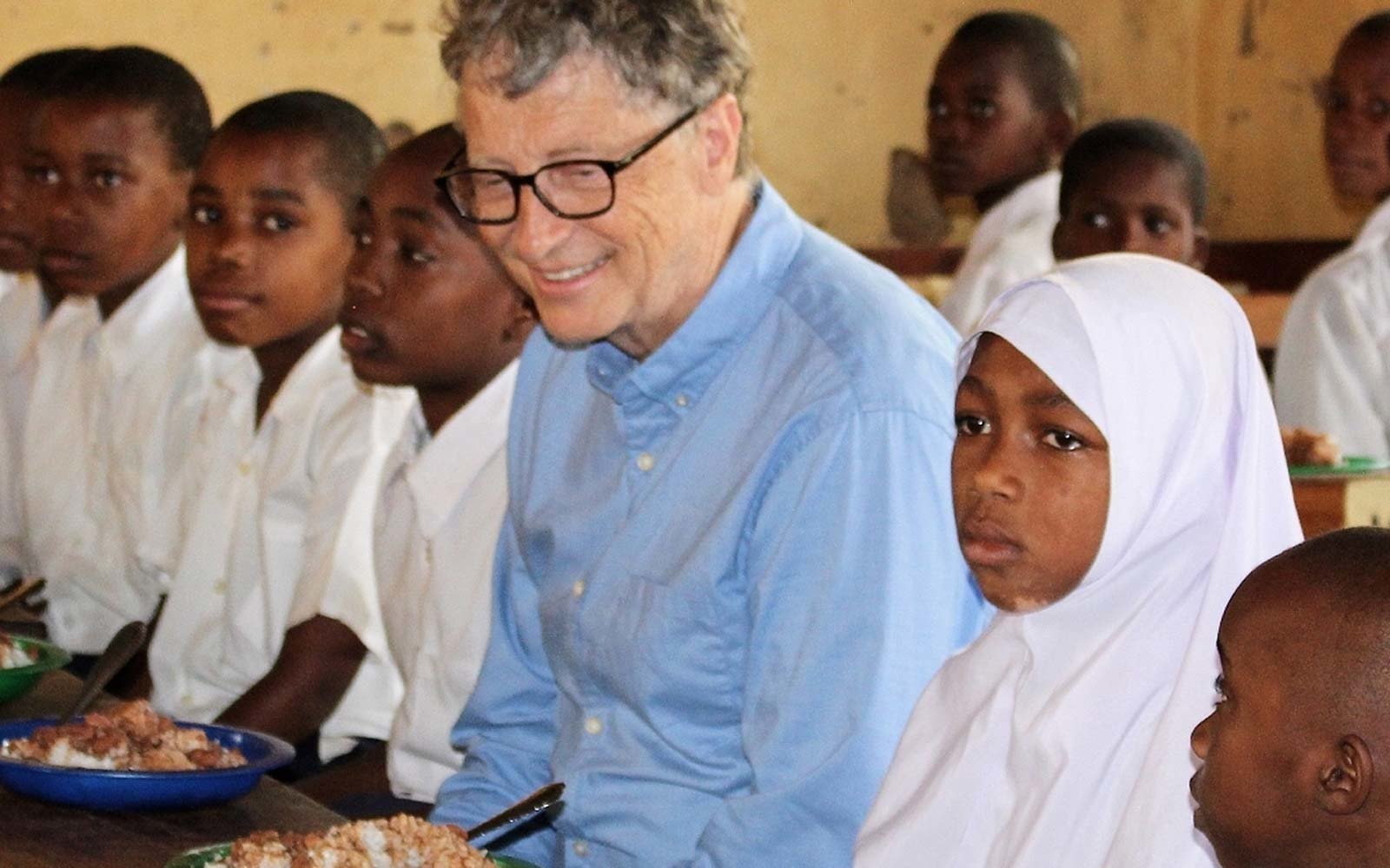 Bill Gates Philanthropic Travel Tanzania Africa