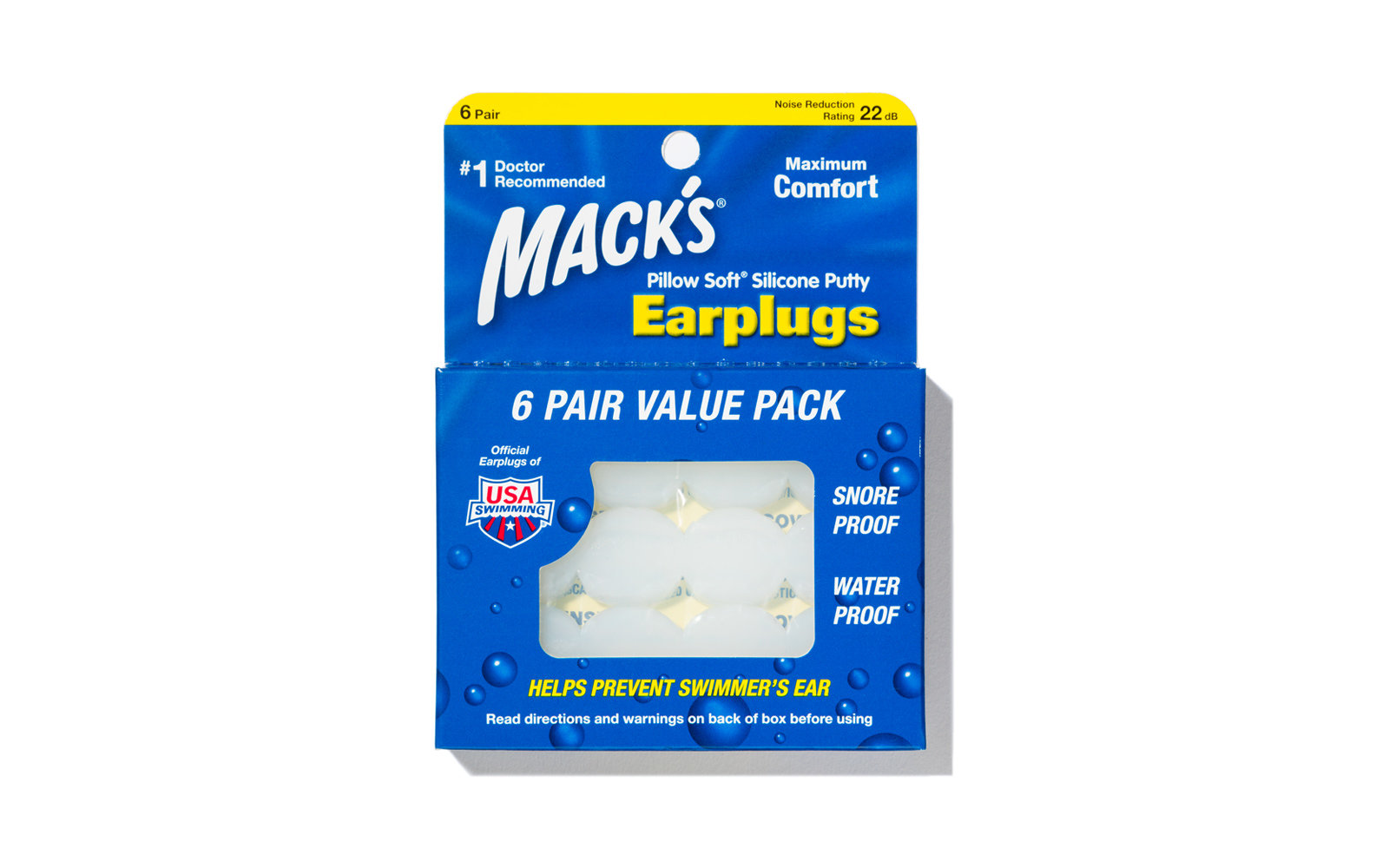 Mack's Silicone Earplugs
