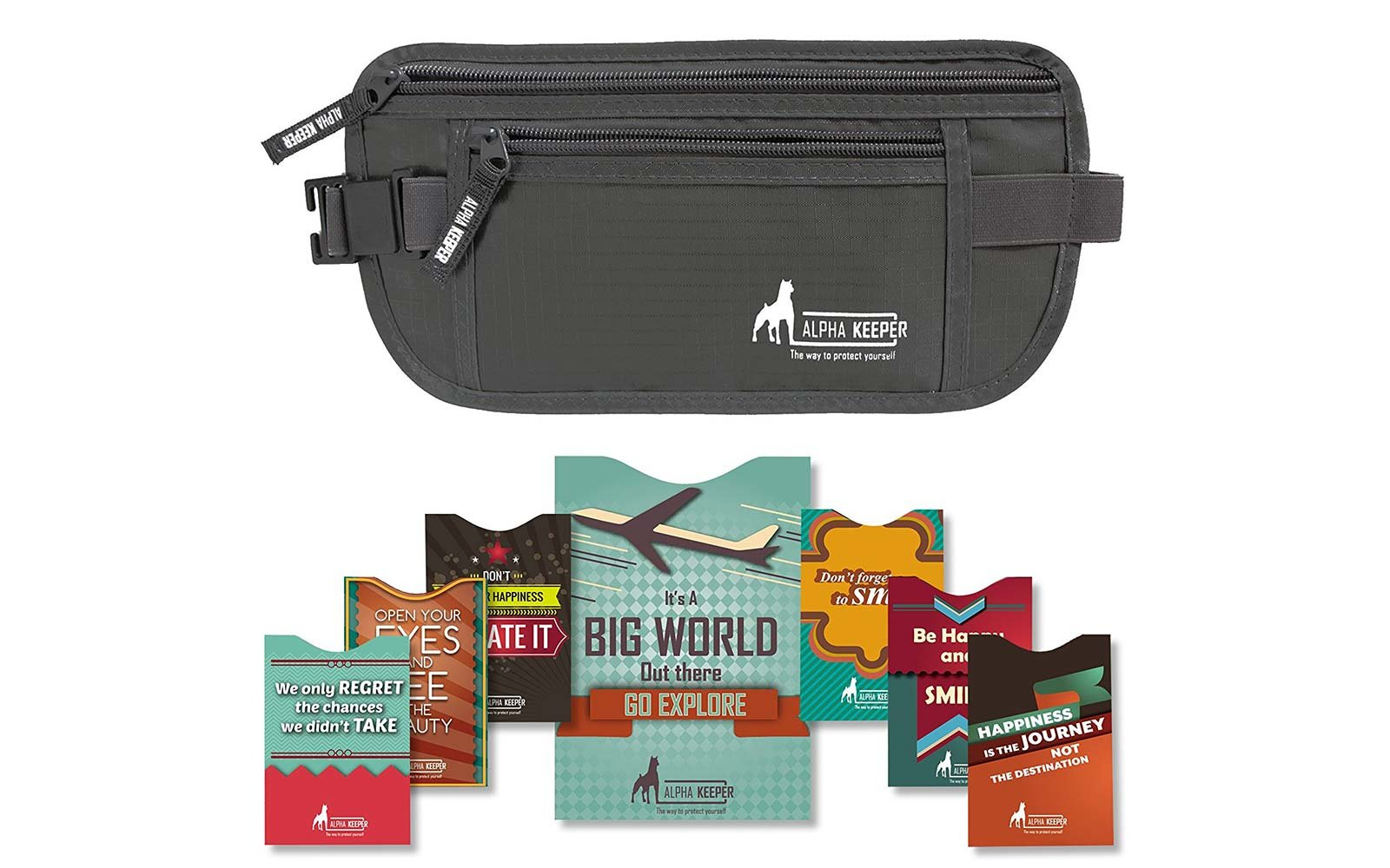 Long Term Travel Packing Alpha Keeper fanny pack bag