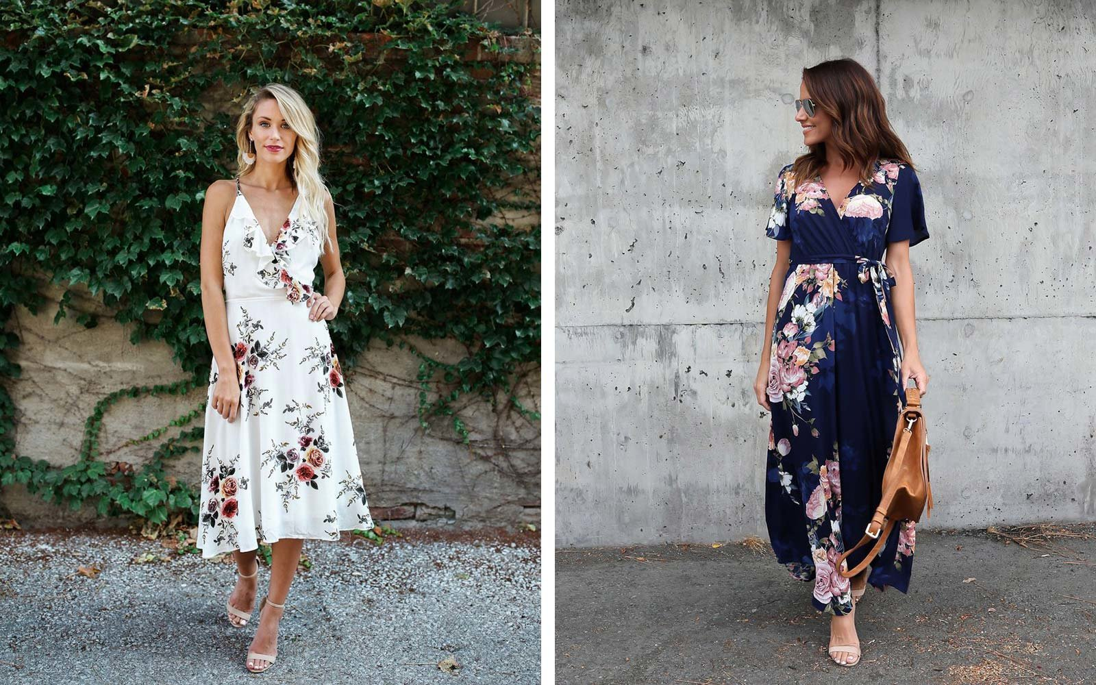 Long Term Travel Packing Vici Collection floral maxi dress