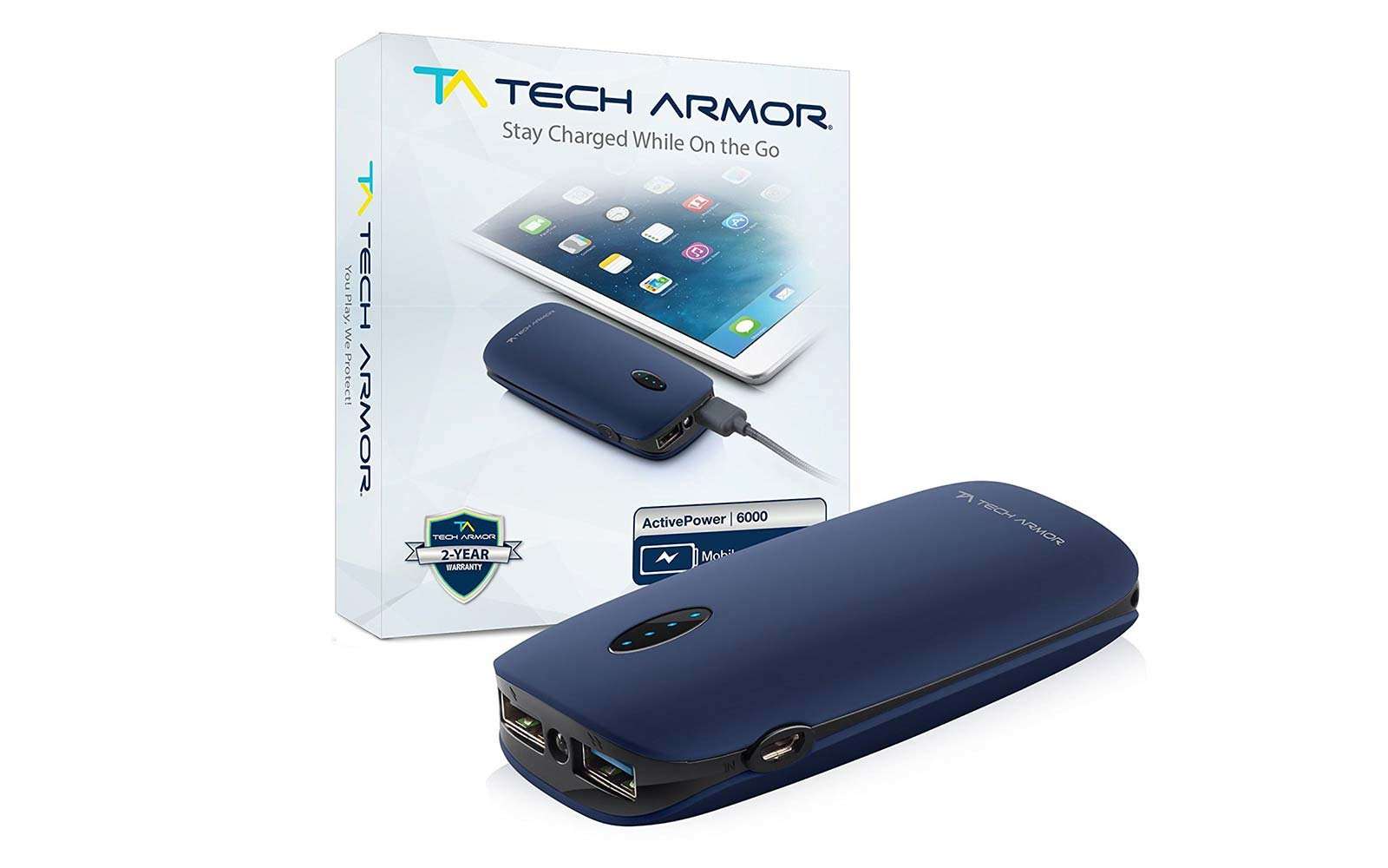 Travel Portable Phone Battery Charger Tech Armor